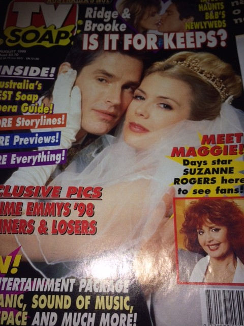 TV Soap magazine copy