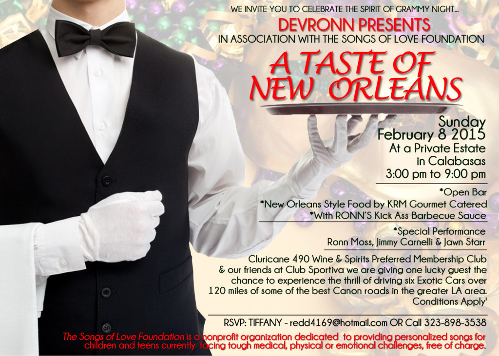 Devronns A Taste of New Orleans Invite