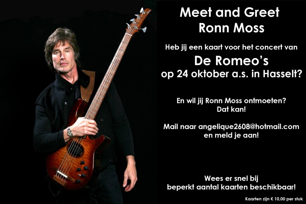 Ronn Moss Meet & Greet