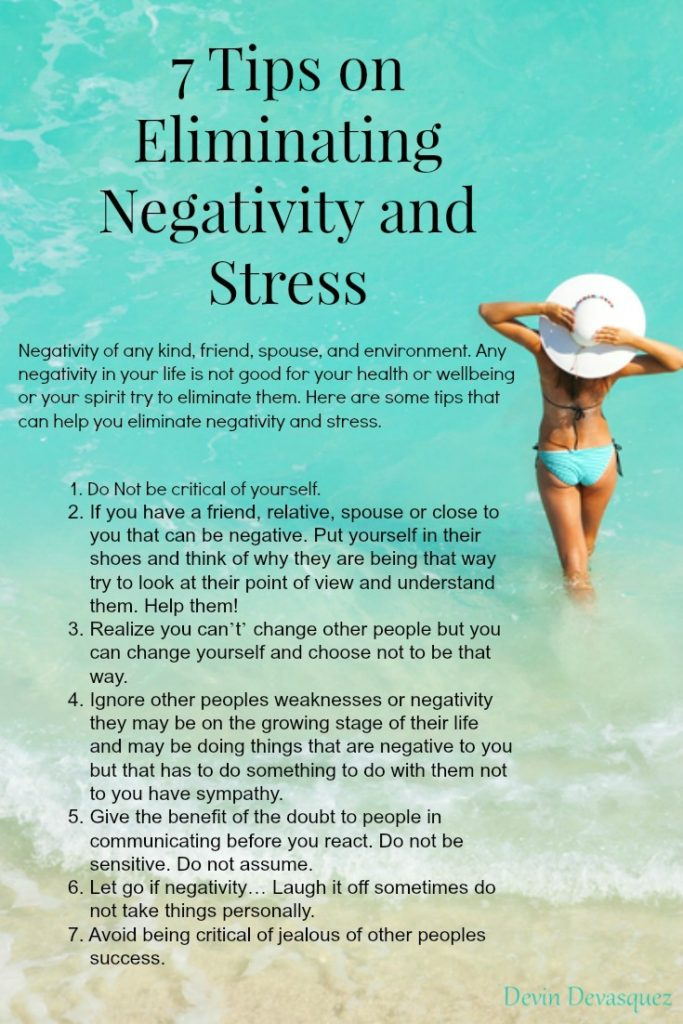 7 Tips on Eliminating Negativity and Stress2